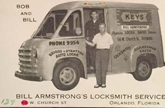 Armstrong Family, My Father & Grandfather